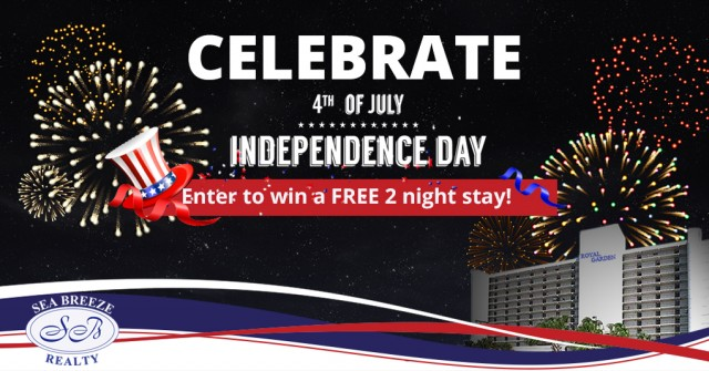 Celebrate July 4th and a Chance to Win a 2-Night Stay!